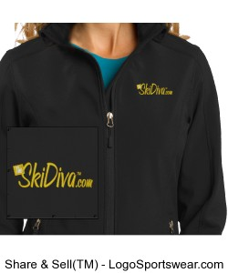 TheSkiDiva Core Soft Shell Jacket Design Zoom